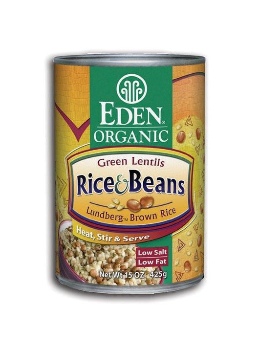 Eden Foods Rice and Lentils Organic - 12 x 15 ozs.