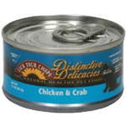Lick Your Chops Cat Food, Canned, Chicken & Crab - 3 ozs.
