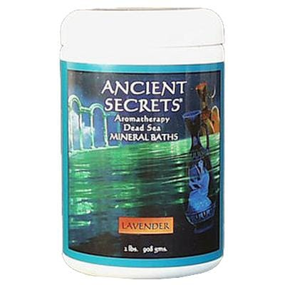 Ancient Secrets Lavender Aromatherapy Bath Salts - 2 lbs.