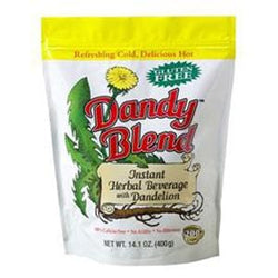 Dandy Blend Instant Herbal Coffee Substitute with Dandelion - 6 x 14.1 ozs.