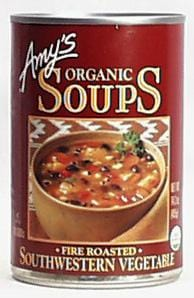 Amy's Fire Roasted SW Veg Soup Organic - 14.3 ozs.