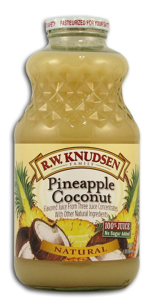 Knudsen Pineapple Coconut Juice - 12 x 32 ozs.