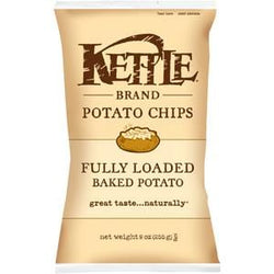 Kettle Foods Potato Chips, Fully Loaded - 12 x 9 ozs.