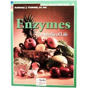 Books Enzymes The Sparks of Life - 1 book