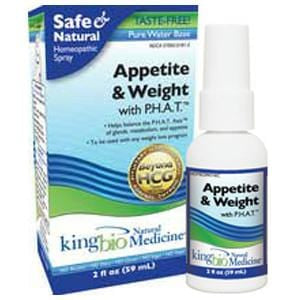 King Bio Appetite & Weight with P.H.A.T. - 2 ozs.