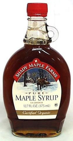 Shady Maple Farm Maple Syrup Grade B Organic - 12.7 ozs.