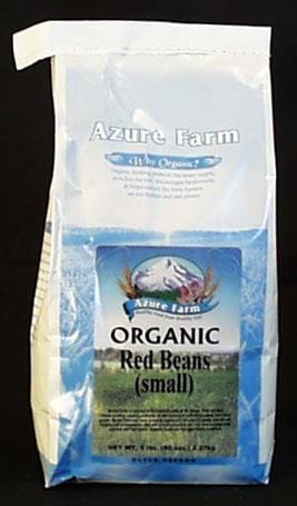 Azure Farm Red Beans Small Organic - 5 lbs.