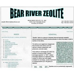 Bear River Zeolite Zeolite, for Garden and Animal 14x40 Mesh, Molly Magic Bag  - 22 lbs