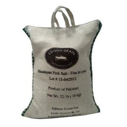 Bulk Salt, Himalayan, Stone Ground, Fine - 22 lbs.
