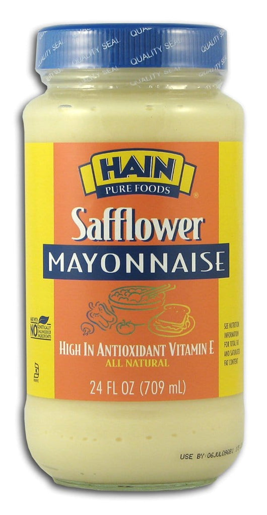 Hain Safflower Mayonnaise - 12 x 24 ozs.