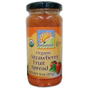 Bionaturae Strawberry Fruit Spread Organic - 12 x 9 ozs.