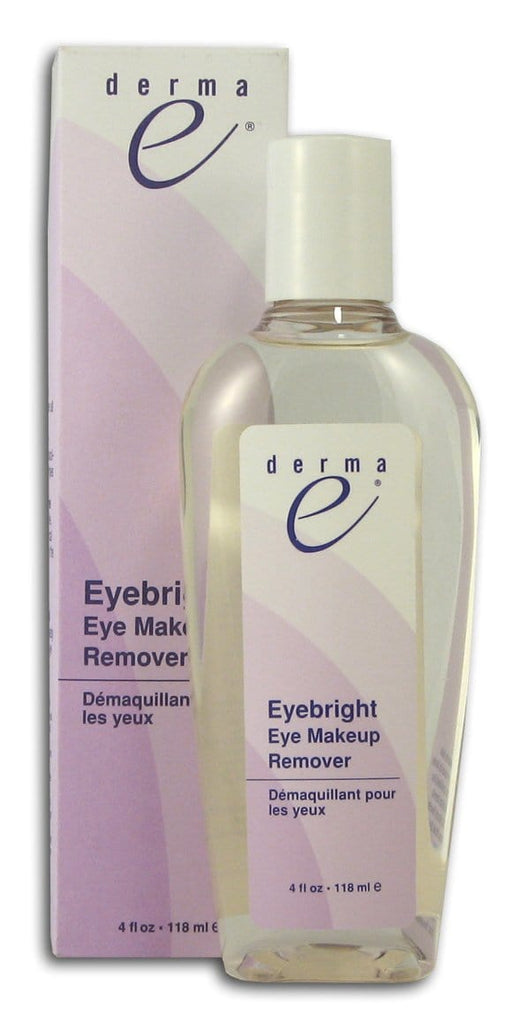 Derma E Eye Bright Eye Makeup Remover - 4 ozs.