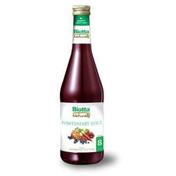 Biotta Powerberry Juice - 6 x 16.9 ozs.