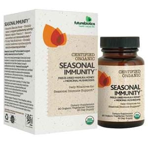 Futurebiotics Seasonal Immunity, Organic - 90 tablets