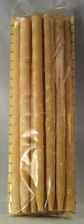 White Egret Beeswax Candles Herbal 1/2
