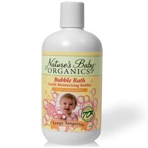 Nature's Baby Organics Bubble Bath, Tangy Tangerine - 12 x 12 ozs.