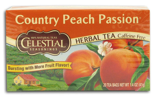 Celestial Seasonings Country Peach Passion Tea - 1 box