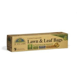 If You Care Lawn & Leaf Bags, Certified Compostable, 33 gallon - 12 x 8 ct.