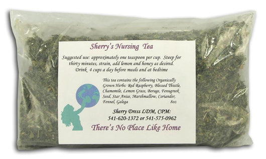 There's No Place Like Home Sherry's Nursing Tea - 8 ozs.