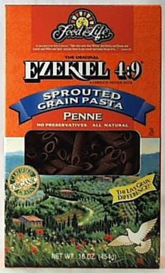 Food For Life Ezekiel 4:9 Penne Organic - 6 x 16 ozs.