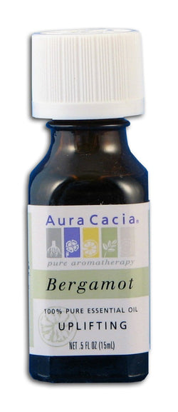 Aura Cacia Orange Bergamot Oil - 0.5 oz.