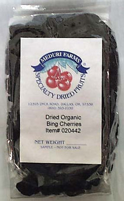 Meduri Farms Cherries, Bing, Whole Dried, Organic - 5 lbs.