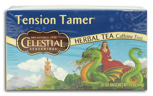 Celestial Seasonings Tension Tamer Tea - 6 x 1 box