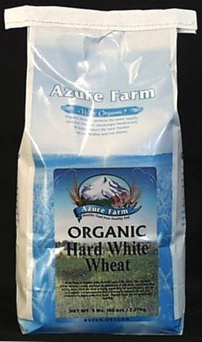 Azure Farm Hard White Wheat Berries Organic - 5 lbs.