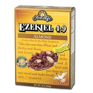 Food For Life Ezekiel Cereal Almond Organic - 3 x 16 ozs.