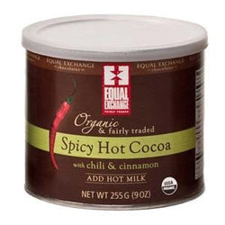 Equal Exchange Spicy Hot Cocoa, Organic - 6 x 12 ozs.