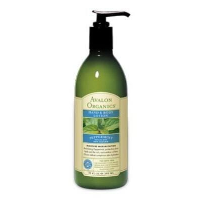 Avalon Peppermint Lotion Organic - 12 ozs.