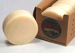 Sappo Hill Soap Bar Soap Natural No Scent - 3.5 ozs.