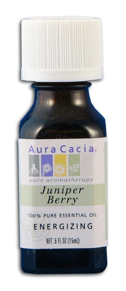 Aura Cacia Juniper Berry Oil - 0.5 oz.
