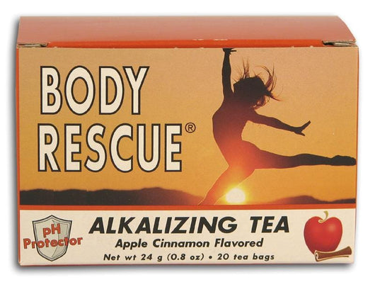 Body Rescue Alkalizing Tea Apple Cinnamon (20 bags) - 1 box