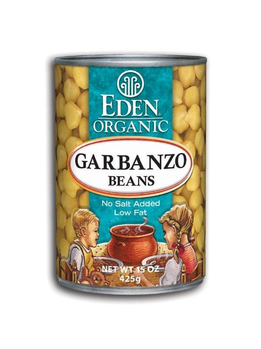 Eden Foods Garbanzo Beans (chick peas) Organic - 15 ozs.