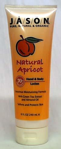 Jason Apricot Hand & Body Lotion - 8 ozs.