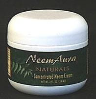 Neem Aura Neem Cream Concentrated with Aloe Vera - 2 ozs.