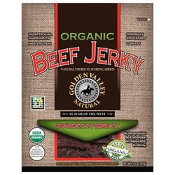 Golden Valley Natural Beef Jerky, Sweet N' Spicy, Organic - 3 ozs.