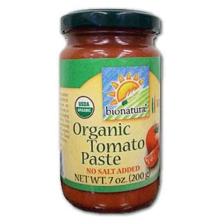 Bionaturae Tomato Paste in Glass Organic - 7 ozs.