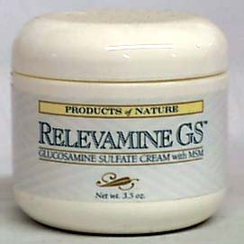 Products of Nature Relevamine GS Cream - 3.5 ozs.