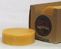 Sappo Hill Soap Bar Soap Sandalwood (Gold) - 3.5 ozs.