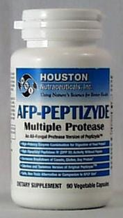 Houston Nutraceuticals AFP-Peptizyde Multiple Protease - 90 caps