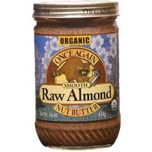 Once Again Nut Butter Inc. Almond Butter Smooth Raw - Organic - 12 x 16 ozs.
