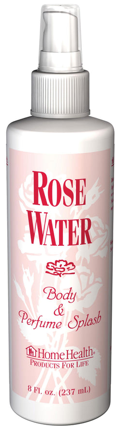 Home Health Rose Water-Flower Water Mist - 8 ozs.