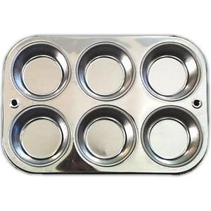 Down to Earth Muffin Pan 6 hole - 1 each