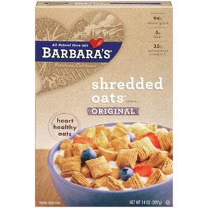 Barbara's Bakery Shredded Oats Original - 12 x 14 ozs.