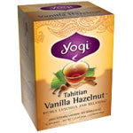 Yogi Tea Herbal Teas Tahitian Vanilla Hazelnut 16 ct