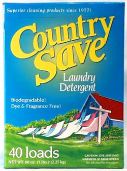 Country Save Laundry Detergent -80 frontloads/40 toploads - 5 lbs.