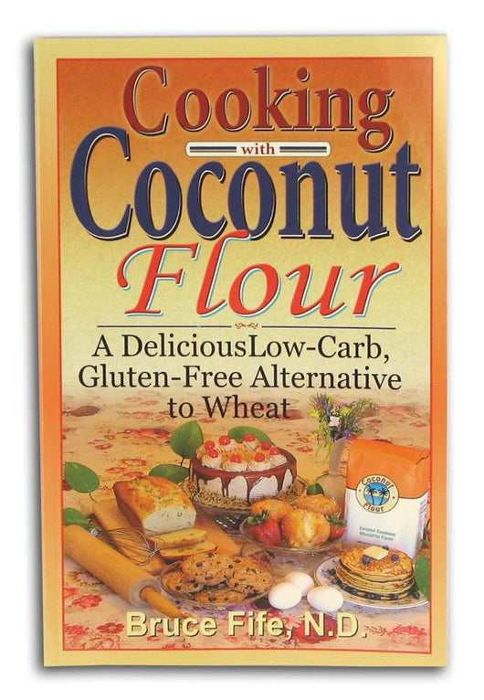 Books Cooking With Coconut Flour - 1 book