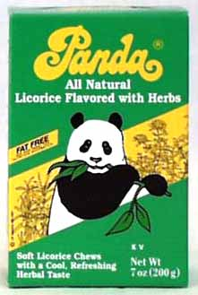 Panda Licorice Chews with Herbs - 7 ozs.